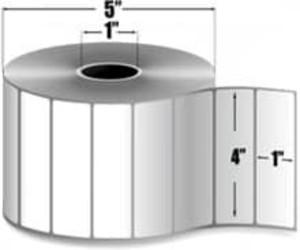 """Intermec Duratran KS, Thermal Transfer Label, 4"""" X 1"""", 8 Rolls, #E25756 - HON-E25756"""