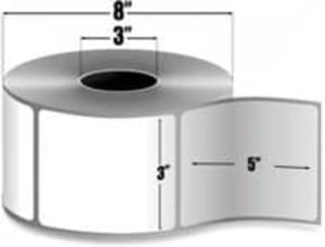 "Intermec Duratran Pro, Thermal Transfer Film Label, 3"" X 5"", 8 Rolls, #E02203 - HON-E02203"