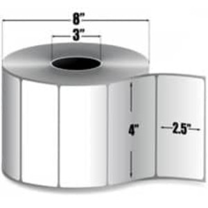 "Intermec Duratran Pro, Thermal Transfer Film Label, 4"" X 2.5"", 4 Rolls, #E02204 - HON-E02204"