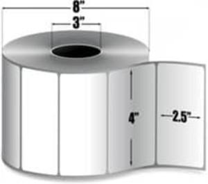 "Intermec Duratran Pro, Thermal Transfer Film Label, 4"" X 2.5"", 4 Rolls, #E09013 - HON-E09013"