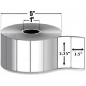 "Intermec Duratran, Thermal Transfer Gloss Film Label, 2.25"" X 1.5"", 1 Roll, #E27674 - HON-E27674"
