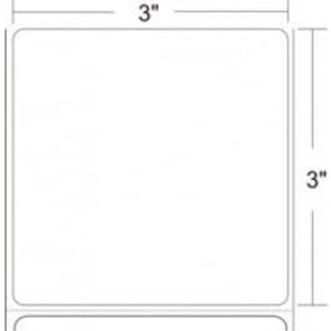 """Epson 3.00"""" x 3.00"""" TM-L90 Thermal Labels, 425 Labels/Roll, AT1L-30030 - EPS-111198600"""