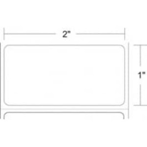 "Epson ColorWorks C3400/C3500 2"" x 1"" Gloss Paper Labels (8 Rolls) - L-IJ-GP21900-2"