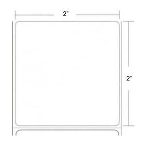 """Epson ColorWorks C3400/C3500 2"""" x 2"""" Premium Matte Paper Labels (8 Rolls) - L-IJ-MP22450-2"""