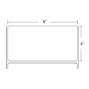 "Epson ColorWorks C3400/C3500 3"" x 6"" Gloss Paper Labels (8 Rolls) - L-IJ-GP36175-2"