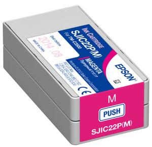 Magenta Inkjet Cartridge for Epson ColorWorks C3500, C33S020582 - IJ-EPS-C33S020582