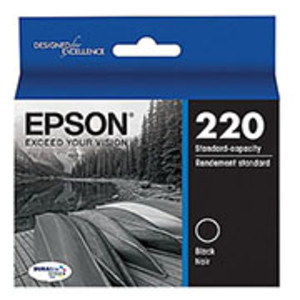Epson T220120 Ink (#220) Epson Workforce 2630/2650/2660 Black Ink Cartridge - IJ-T220120