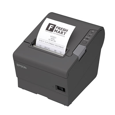 Epson TM-T88V Thermal Receipt Printer, USB/Serial, Auto-cutter, Power Supply