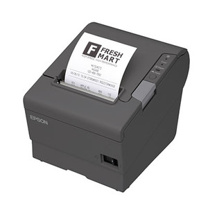 Epson TM-T88V Thermal Receipt Printer, USB/Serial, Auto-cutter, Power Supply - EPS-C31CA85084