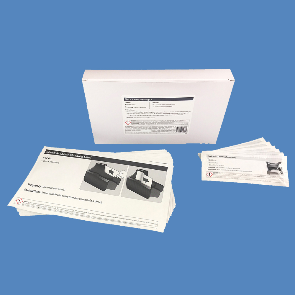 EZ Check Scanner Cleaning Kit K2-KCIS