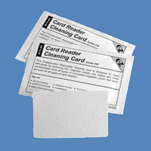 Fare Box / Ticket Reader 0.01 Cleaning Cards, CR80, K-MPS10 (50 Cards) - K-MPS10