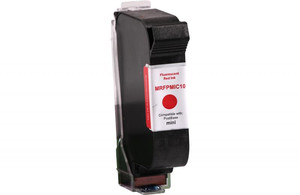 Fluorescent Red Postage Meter Ink Cartridge for FP Mailing Solutions PMIC10 (Remanufactured) - PM-MRFPMIC10