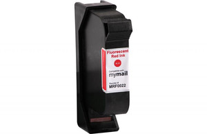 Fluorescent Red Postage Meter Ink Cartridge for FP Mailing Solutions MIC 580032002200 (Remanufactured) - PM-MRF0022