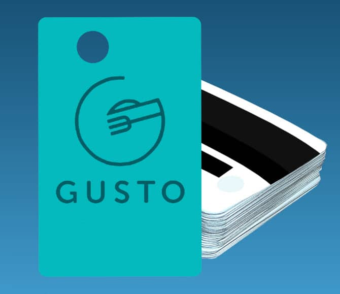 GUSTO POS Cards