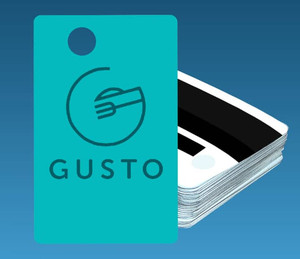 Gusto Employee Magnetic ID Cards, 10 Cards/Pack