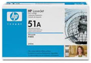 HP 51X Black Laser Toner Cartridge, High Yield, 13,000 Page Yield - TON-Q7551X