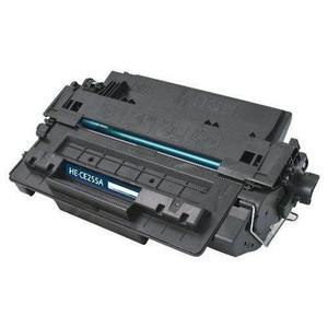 HP 55A Compatible Black Laserjet Toner Cartridge, 6,000 Page Yield - TON-CE255A-CPT