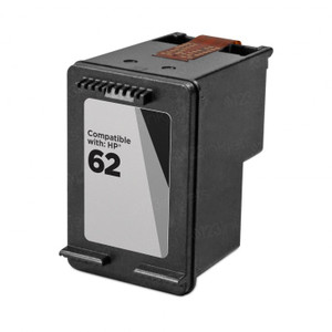 HP 62XL Compatible Black Officejet Ink Cartridge, High Yield, 600 Page Yield - IJ-C2P05AN-CPT
