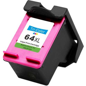 HP 64XL Compatible Tri-Color Envy Ink Cartridge, High Yield, 415 Page Yield - IJ-N9J91AN-CPT