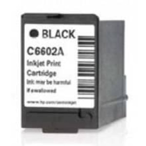 HP C6602A BLACK Inkjet Cartridges - IJ-C6602A