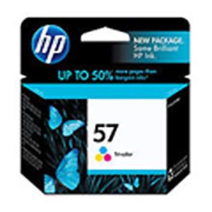 HP Model C6657AN No. 57 Color Inkjet Cartridge - IJ-C6657AN