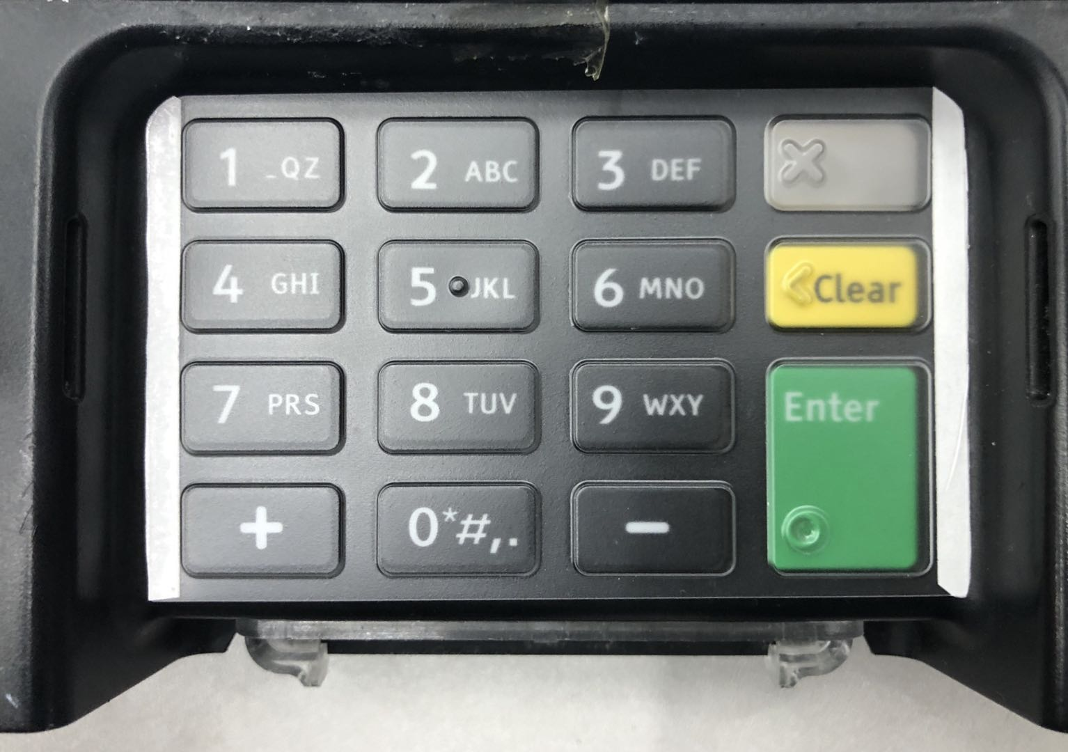 Ingenico ISC 480 Keypad Protective Spill Cover