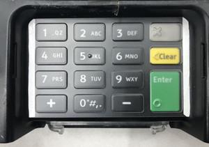 Ingenico ISC 480 Keypad Protective Spill Cover - AC-ISC480KEYPAD