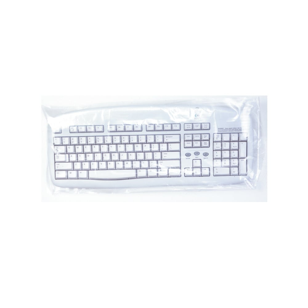 """Large 8"""" x 20"""" Disposable Keyboard Sleeves (Pack of 500)"""