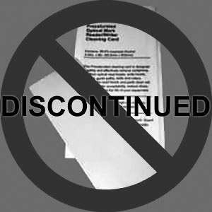 Lottery Ticket Validator / OMR Cleaning Card, 25/Box