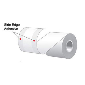 "2.25"" x 78' MAXStick 2Go, Side Edge Adhesive Liner-Free Thermal Labels (72 Rolls) - MS214782GOSE"