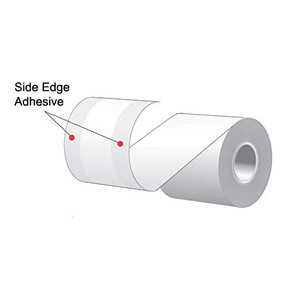 "3.125"" x 160' MAXStick 2Go, Side Edge Adhesive Liner-Free Thermal Labels (12 Rolls) - MS3181602GOSE-12"