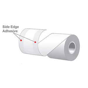 "3.125"" x 160' MAXStick 2Go, Side Edge Adhesive Liner-Free Thermal Labels (24 Rolls) - MS3181602GOSE-24"