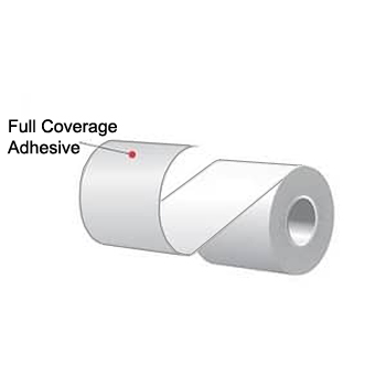 "2.25"" x 150' MAXStick X2, Full Coverage Adhesive Liner-Free Thermal Labels (12 Rolls)"