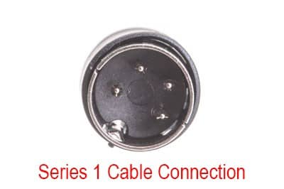 Cash Drawer Conversion Cable: Oracle MICROS Series 1 cash drawer to Oracle MICROS Series 2 - 1.5 ft
