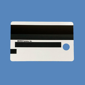 MICROS Magnetic ID Cards, 25/set