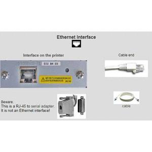 Micros Epson TM-T88V Thermal Printer, Ethernet 400489-507-PT
