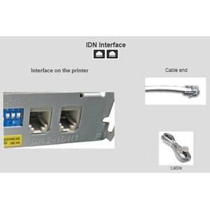 micros epson tm t88v thermal printer idn interface gray 400489 514 pt
