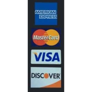 Multi-Logo Credit Card Decals (4 decals) - D-MultiLogo