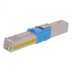 Okidata C310dn Compatible Yellow Toner Cartridge, 3,000 Page Yield - TON-44469701-CPT
