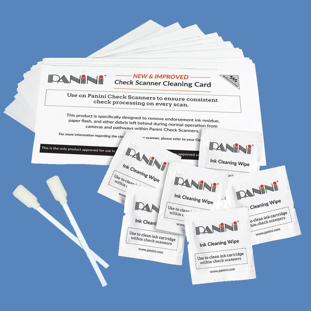 Panini Check Scanner Cleaning Kit KWPNI-K5W