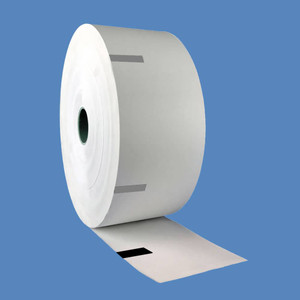 Parkeon (Flowbird) Stelio/Strada Pay & Display Thermal Paper Rolls, 60mm Topcoated 3.4 mil, Sense Marks (4 Rolls) - PR-PARKEON-60MM-3.4TC