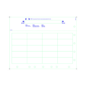 Pediatric Medical ID Wristband Laser Sheets with 20 Chart Labels, Matte Lamination (1000 Sheets) - L-WB-PLS-214W