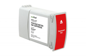 Red Postage Meter Ink Cartridge for NeoPost IJ110 (Remanufactured) - PM-ECO110