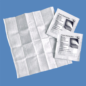 Screen Cleaning Wipes, Individually Packaged, K2-WVT100 (100 Wipes) - K2-WVT100