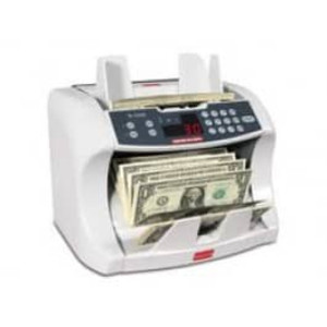 Semacon S-1225 Table Top Bank Grade Canada Currency Counter with Batching, 800-1600 UV/MG CF - F-S-1225-CAD