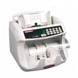 Semacon S-1450 Bank Grade Currency Counter, UV/MG CF w/ Dust Reduction System