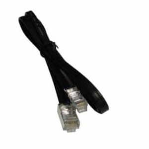 Shielded cable assembly: 20 feet, 6-pin to 6-pin - MIC-300281-120-20FT