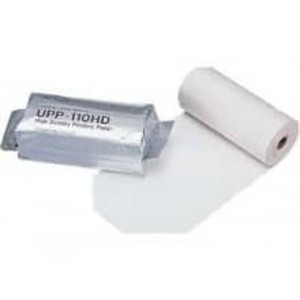 Sony UPP-110HD High-Density Thermal Printer Roll, B&W, 110mm X 20m - MP-UPP-110HD