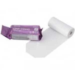 Sony UPP-110HG High-Density Glossy Thermal Ultrasound Paper, B&W, 110mm x 18m - M-UPP-110HG