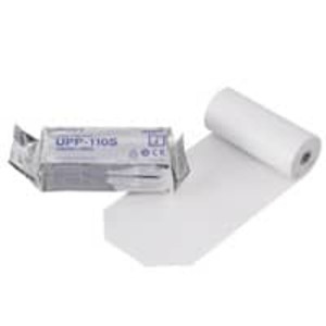 Sony UPP-110S High-Density Standard Ultrasound Paper Roll, B&W, 110mm x 20m - M-UPP-110S